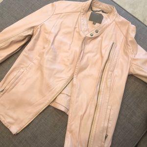 Muubaa Moto Leather Jacket - US size 4 (UK size 8)